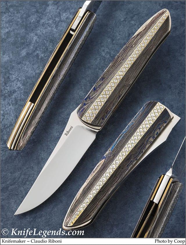 Claudio Riboni Custom Knife